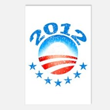 Obama 2012 with Stars Postcards (Package of 8)