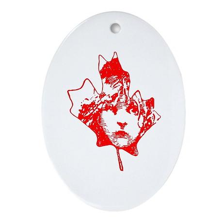 Cosette Canada Ornament (Oval)