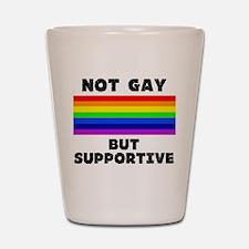 Not Gay Shot Glass
