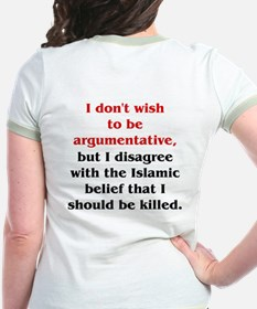Disagree with Islam T