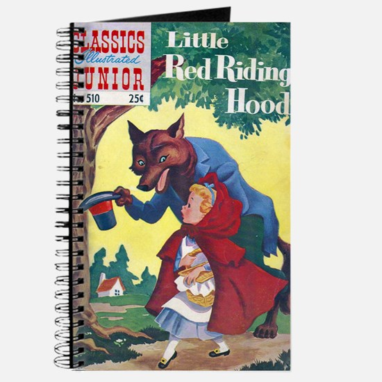 $9.99 Classic Red Riding Hood Journal