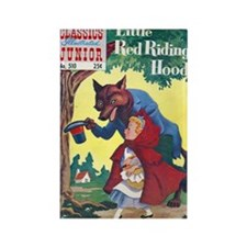 $4.99 Classic Red Riding Hood Rectangle Magnet