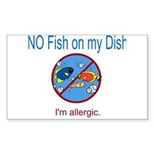 Unique Seafood Decal