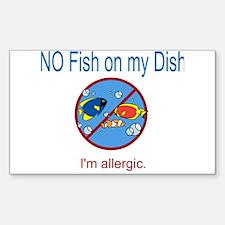 Cute Allergies Decal