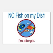 Unique Allergies Postcards (Package of 8)