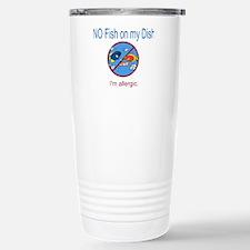 Unique Allergies Travel Mug