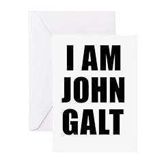 I Am John Galt Greeting Cards (Pk of 20)