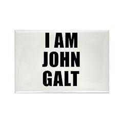 I Am John Galt Rectangle Magnet (10 pack)