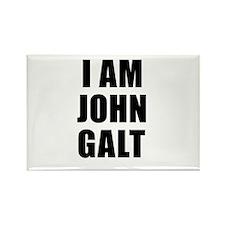 I Am John Galt Rectangle Magnet