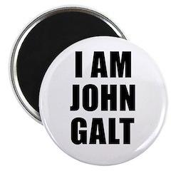 """I Am John Galt 2.25"""" Magnet (10 pack)"""