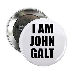 """I Am John Galt 2.25"""" Button (10 pack)"""