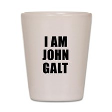 I Am John Galt Shot Glass