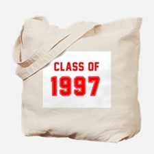 Class of 1997 Red Tote Bag