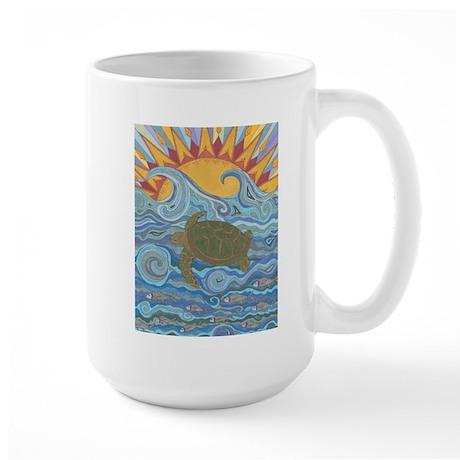 Old Man of the Sea Large Mug