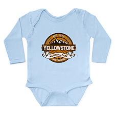 Yellowstone Golden Long Sleeve Infant Bodysuit