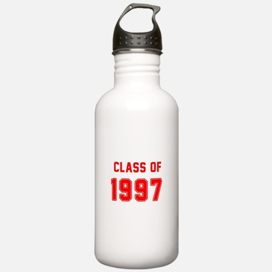 Class of 1997 Red Water Bottle
