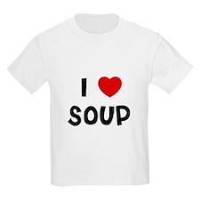 I * Soup Kids T-Shirt