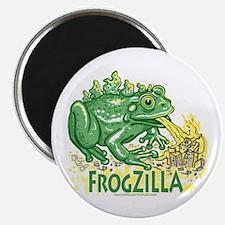 Frogzilla Fire-Croaking Frog Magnet