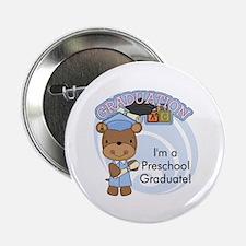 """Boy Bear Preschool Grad 2.25"""" Button (10 pack)"""
