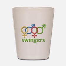 Swingers Shot Glass