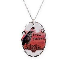 Crow Goddess Necklace