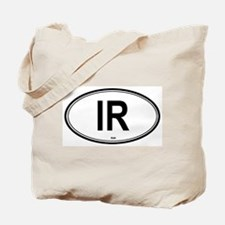 Iran (IR) euro Tote Bag