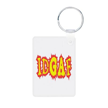 IDGAF idgaf I Don't Give a F*ck Aluminum Photo Key