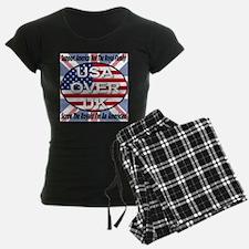 USA OVER UK Pajamas