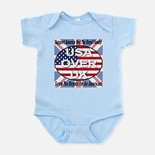 USA OVER UK Infant Bodysuit