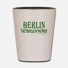 Berlin Testicle of the West Shot Glass