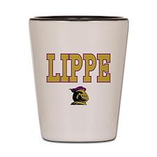 Lippe University Knights Name Shot Glass