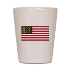 English American Shot Glass