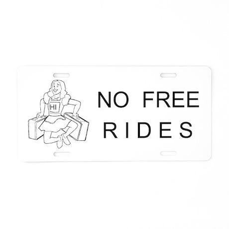 CUSTOM Aluminum License Plate