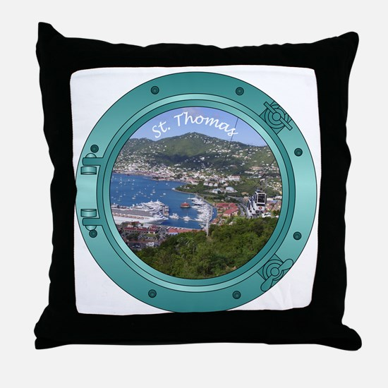 St Thomas Throw Pillow