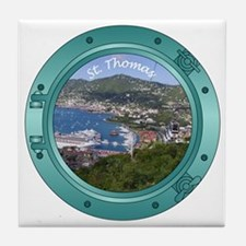 St Thomas Tile Coaster