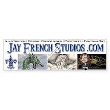 Jay French Bumper Bumper Sticker
