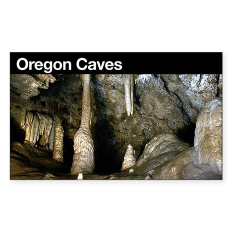Oregon Caves NM Rectangle Sticker