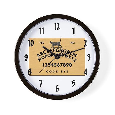 """""""Ouija Board"""" Wall Clock"""