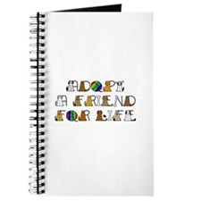 Adopt a Friend for Life Journal