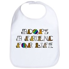 Adopt a Friend for Life Bib