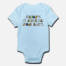 Adopt a Friend for Life Infant Bodysuit