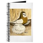English Trumpeter Yellow Sadd Journal
