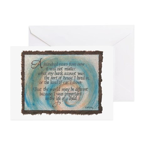 100 Years... Greeting Cards (Pk of 10)