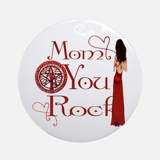 Wicca Mothers Day Ornament (Round)
