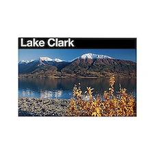 Lake Clark National Park Rectangle Magnet