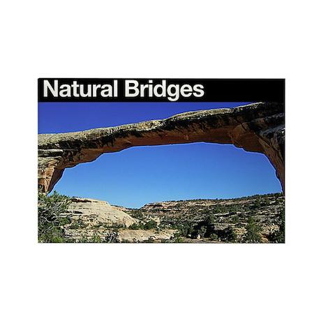 Natural Bridges NM Rectangle Magnet