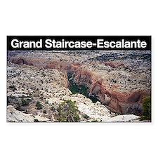 Grand Staircase-Escalante NM Rectangle Decal