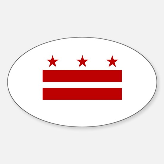 DC Pride Oval Decal