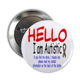 Autism awareness button 10 Pack