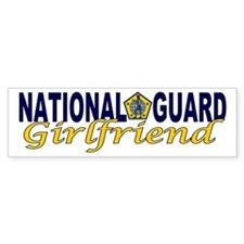 National Guard Girlfriend Bumper Bumper Sticker